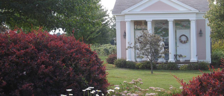 Polly Harper Inn Garden House From Garden